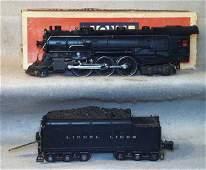 031: LIONEL 226E LOCO & 2226W TENDER