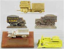 5 DIE CAST DESK PIECES