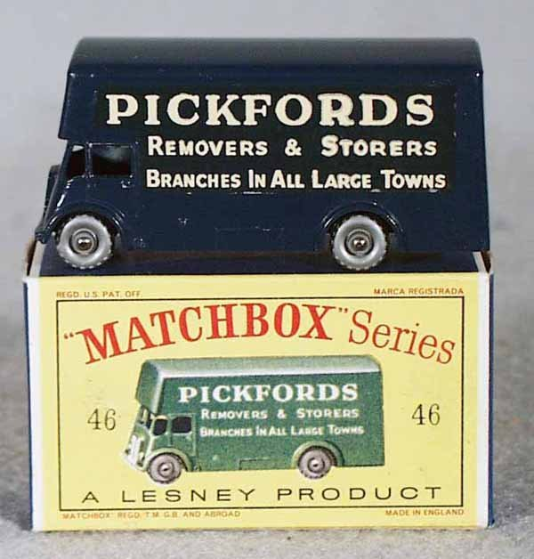 009A: MATCHBOX 46B4 PICKFORDS VAN