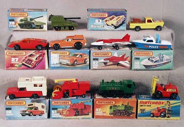 010A: 10 MATCHBOX SUPERFASTS