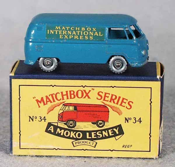 100A: MATCHBOX 34A3 VW VAN