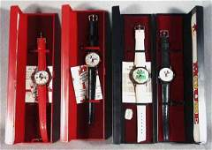 414A 4 BRADLEY DISNEY MICKEY MOUSE WATCHES