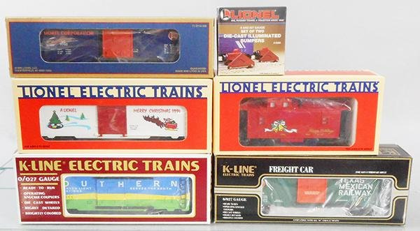 LIONEL & K-LINE FREIGHT CARS