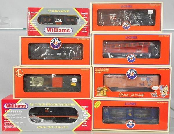 WILLIAMS & LIONEL TRAIN SET