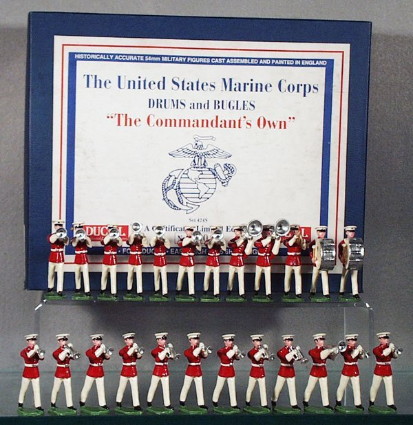 20: DUCAL SET 424S US MARINE CORPS DRUMS & BUGLES