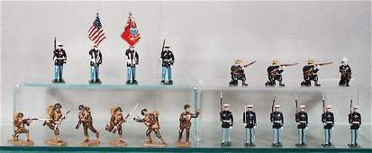 255 4 TOY SOLDIER SETS