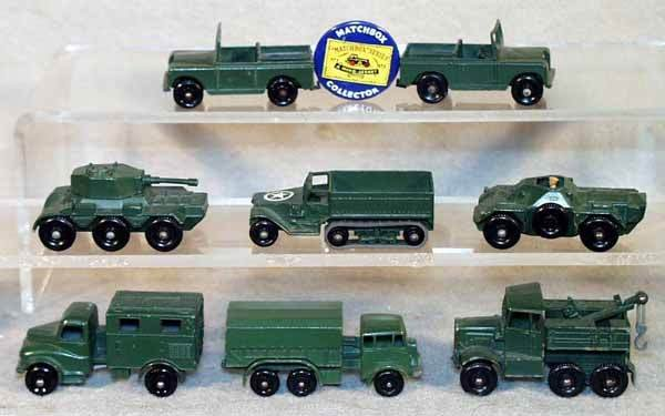 1011: 8 MB ARMY VEHICLES