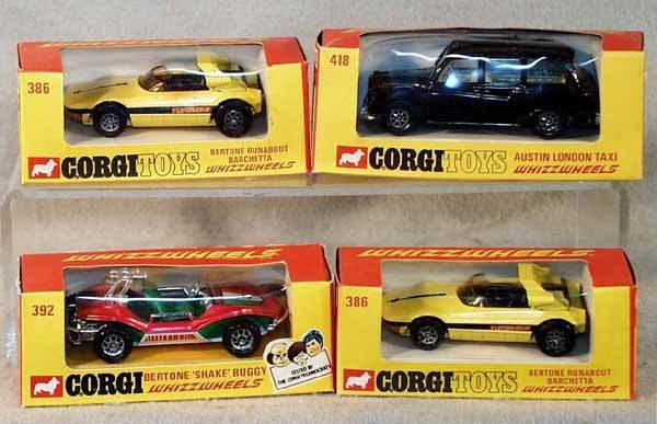 1014: 4 CORGI VEHICLES