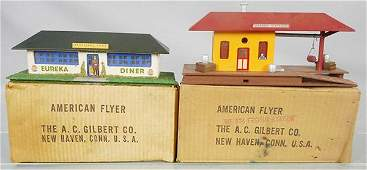 2 AMERICAN FLYER ACCESSORIES