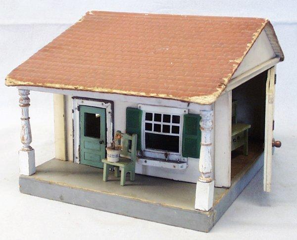 018A: SCHOENHUT DOLLHOUSE