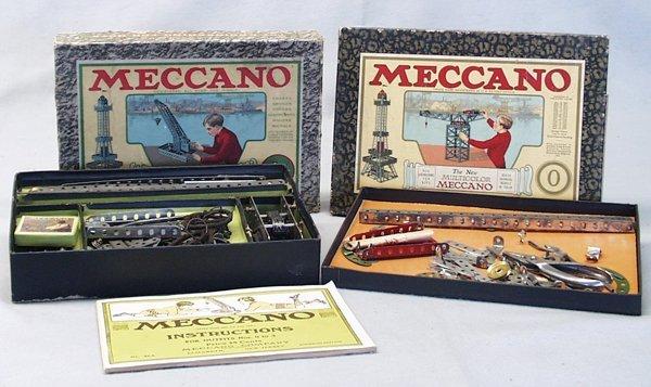 023A: 2 MECCANO BUILDING SETS