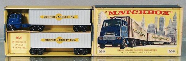 14: MATCHBOX M9A3 INTERSTATE DOUBLE FREIGHTER