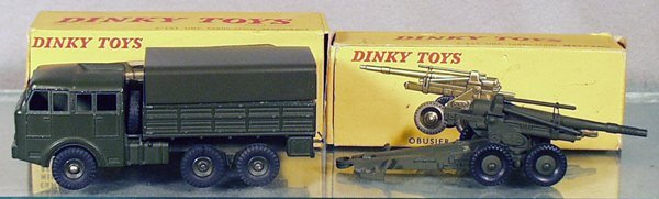 20: 2 DINKY MILITARY VEHICLES