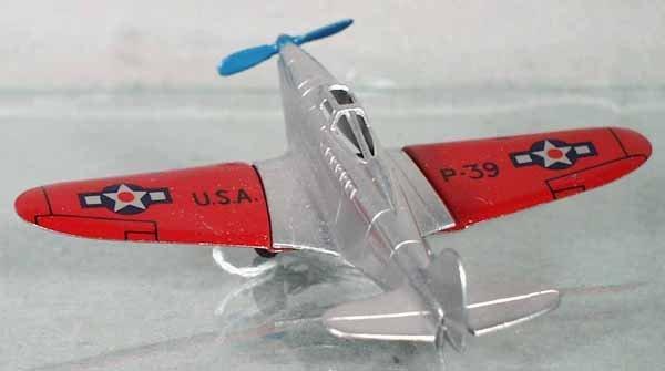 24: TOOTSIETOY P-39 FIGHTER PLANE