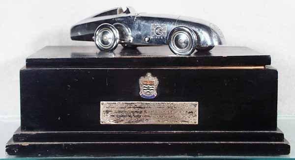 159: 1936 MG BLACKPOOL TROPHY W/CIGARETTE LIGHTER