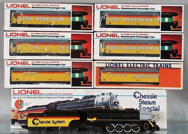001A: LIONEL CHESSIE TRAIN SET