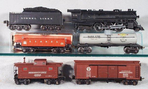005A: LIONEL TRAIN SET