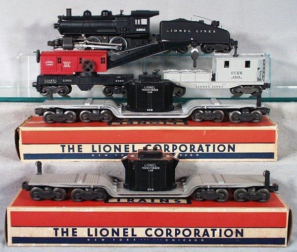 012A: LIONEL TRAIN SET