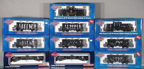 015A: 10 ATLAS CARS