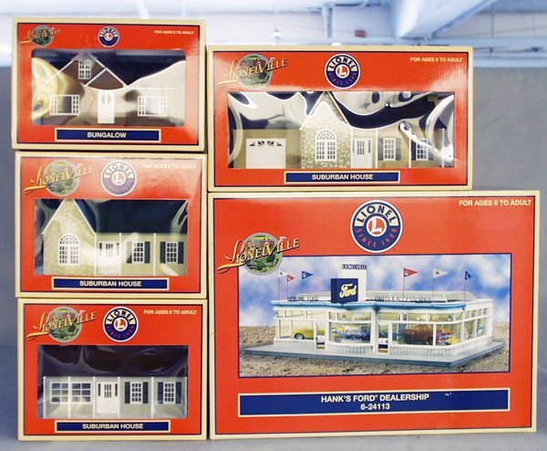 016A: 5 LIONEL BUILDINGS