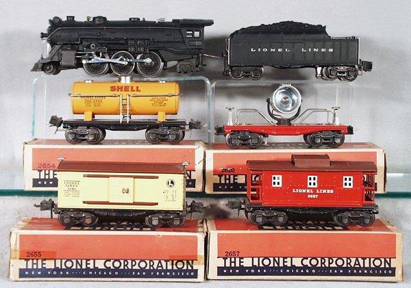 017A: LIONEL TRAIN SET