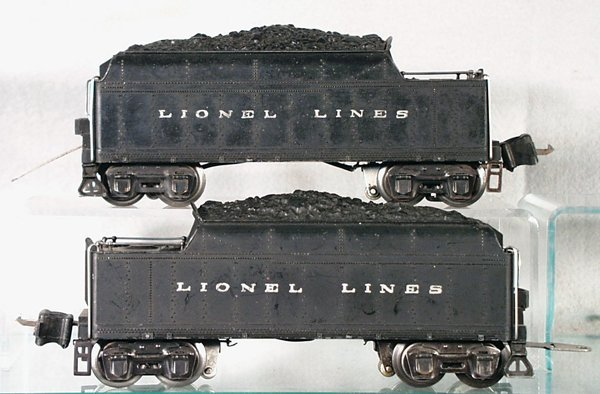 018A: 2 LIONEL TENDERS