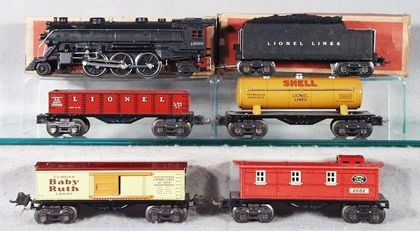 019A: LIONEL TRAIN SET