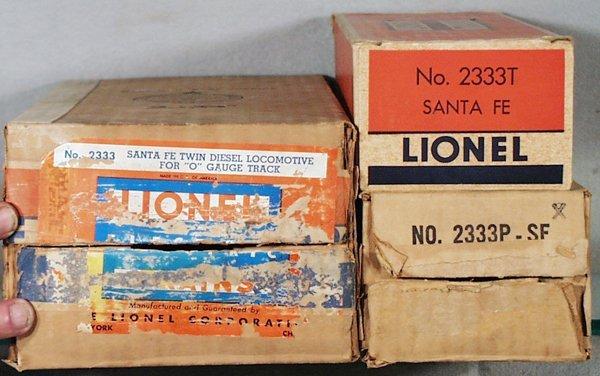 020A: ORIG LIONEL BOXES