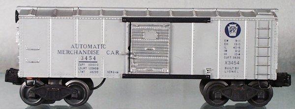 021A: LIONEL 3454 AUTOMATIC MERCHANDISE CAR