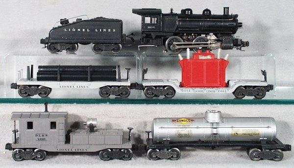 023A: LIONEL TRAIN SET
