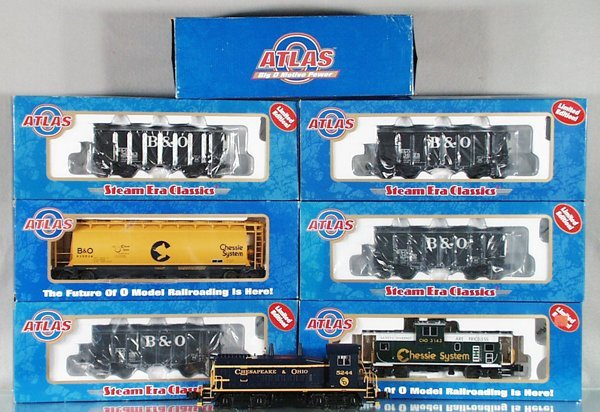 024A: ATLAS TRAIN SET