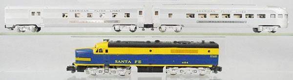 AMERICAN FLYER TRAIN SET