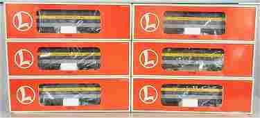 6 LIONEL C&O HEAVYWEIGHT CARS