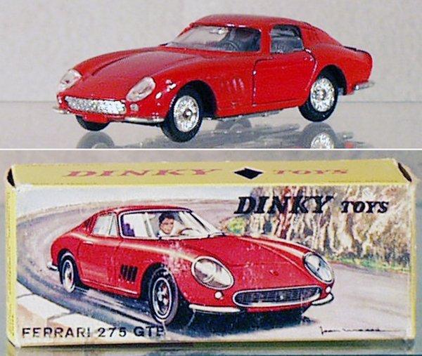 3: DINKY 506 FERRARI 275 GTB