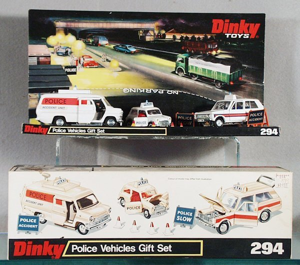 5: DINKY 294 POLICE VEHICLES GIFT SET