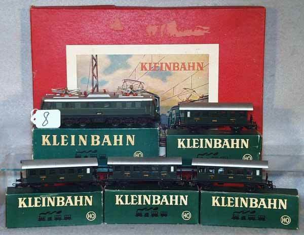 008: KLEINBAHN TRAIN SET