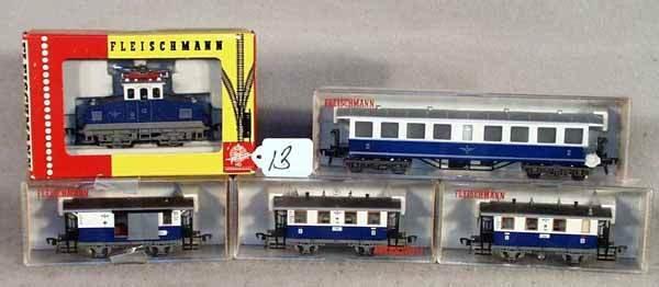 013: FLEISCHMANN TRAIN SET