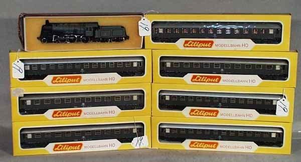 019: LILIPUT TRAIN SET