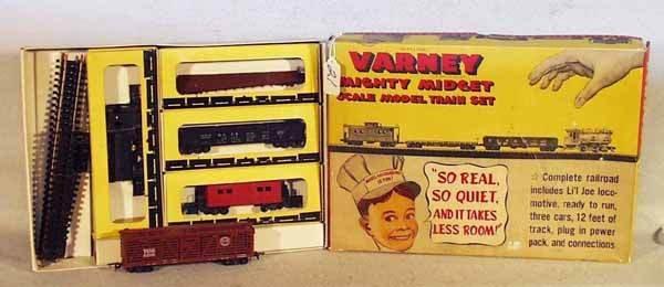 021: VARNEY MIGHTY MIDGET TRAIN SET