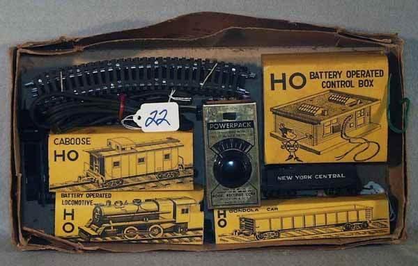 022: MARX 6875 TRAIN SET