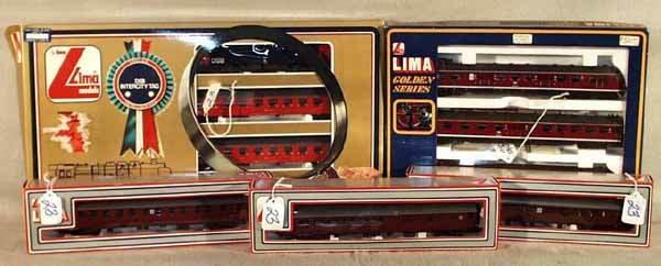 023: 3 LIMA TRAIN SETS