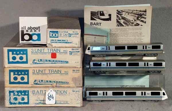 036: ATHEARN BART TRAIN SET