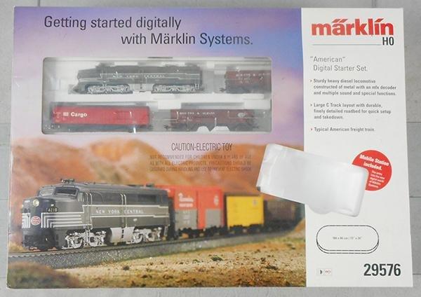 MARKLIN 29576 DIGITAL USA STARTER SET