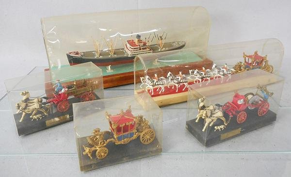 5 REVELL MINIATURE MASTERPIECES MODELS