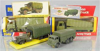 DINKY MILITARY VEHICLES