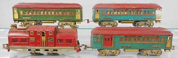 AMERICAN FLYER LONE SCOUT TRAIN SET