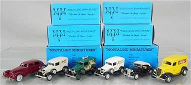 6 NOSTALGIC MINIATURES VEHICLES