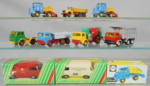9 SIKU, SCHABAK & SCHUCO VEHICLES