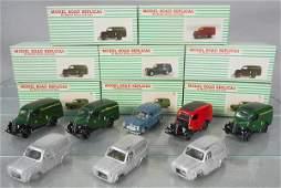 8 MODEL ROAD REPLICAS MODELS