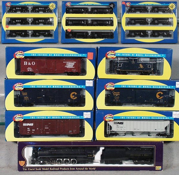 10: IHC/ATHEARN TRAIN SET